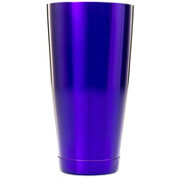 Barfly M37084PU 28 oz. Purple Full Size Cocktail Shaker Tin