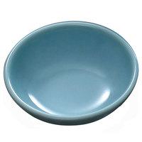 Blue Jade 12 oz. Round Melamine Bowl, 6 inch - 12/Case
