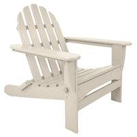 POLYWOOD AD5030SA Sand Classic Folding Adirondack Chair
