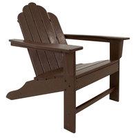 POLYWOOD ECA15MA Mahogany Long Island Adirondack Chair