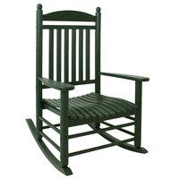 POLYWOOD J147GR Green Jefferson Rocking Chair