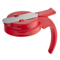 Vollrath 632T-02 Dripcut® Red Plastic Top for 32 oz. Syrup Servers