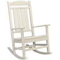 POLYWOOD R100SA Sand Presidential Rocking Chair