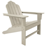 POLYWOOD ECA15SA Sand Long Island Adirondack Chair