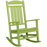 POLYWOOD R100LI Lime Presidential Rocking Chair