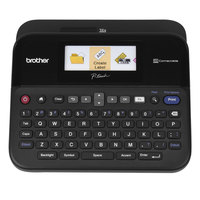 Brother PTD600 Black PC-Connectable Label Maker with Color Display