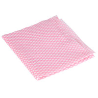 "Royal Paper RP11550 13 1/2"" x 24"" Pink Light-Duty Foodservice Wiper - 200/Case"