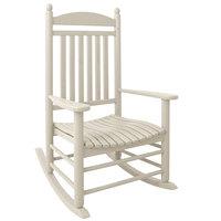 POLYWOOD J147SA Sand Jefferson Rocking Chair