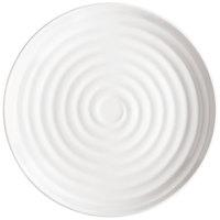 GET ML-81-W Milano 9 1/2 inch White Melamine Round Plate - 12/Pack