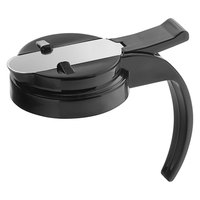 Vollrath 606T-06 Dripcut® Black Plastic Top for 6, 7, and 10 oz. Syrup Servers
