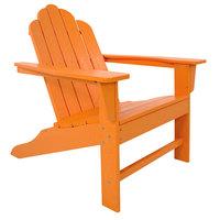 POLYWOOD ECA15TA Tangerine Long Island Adirondack Chair