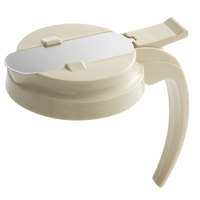 Vollrath 4748T-18 Dripcut® Almond Plastic Top for 48 and 64 oz. Syrup Servers