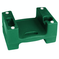 Koala Kare Booster Buddies KB116-06 Green Plastic Booster Seat - Dual Height - 5/Pack