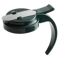 Vollrath 614T-191 Dripcut® Vista Green Plastic Top for 14 and 16 oz. Syrup Servers
