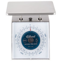 Edlund RM-5000 Four Star Series 5000 g Metric Portion Scale with 7 3/4 inch x 7 1/2 inch Platform