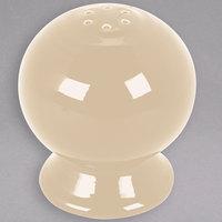 Homer Laughlin 751330 Fiesta Ivory China Pepper Shaker - 12/Case