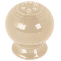 Homer Laughlin 751330 Fiesta Ivory Pepper Shaker - 12/Case