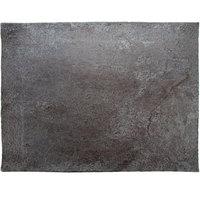GET SB-1613-MNS Moonstone 15 3/4 inch x 11 3/4 inch Slate Melamine Rectangular Platter - 3/Pack