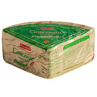 Gelmini 3 lb. Cinque Stelle Gorgonzola Dolce DOP Cheese Quarter Wheel - 4/Case