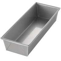 Chicago Metallic 40491 1 1/2 lb. Single Open Top Bread Pan - 12 1/4 inch x 4 1/2 inch x 2 3/4 inch