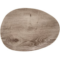 GET SB-1600-DRW Madison Avenue / Granville 16 inch x 12 inch Melamine Faux Birch Wood Serving Board