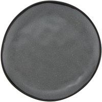 GET CS-90-GR Pottery Market 9 inch Matte Speckled Gray Melamine Coupe Dinner Plate - 12/Pack