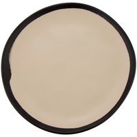 GET CS-70-MA Pottery Market 7 inch Matte Manila Melamine Bread Plate - 12/Pack