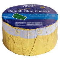 St. Clemens 6 lb. Green Island Danish Crumbly Blue Cheese Wheel