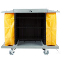 Lavex Lodging Hotel / Housekeeping Cart - Large Four Shelf