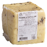 Centro Form 2.2 lb. Pecorino Cheese with Burgundy Summer Truffles Block
