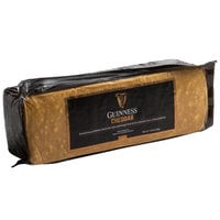 Guinness Cheddar 5.5 lb. Stout Beer Infused Cheese Block - 2/Case
