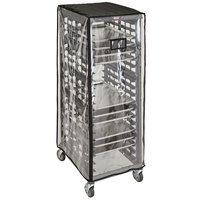 Cambro GBCRC272165CLR GoBag™ Clear Full Size Vinyl Bun Pan Rack Cover - 27 inch x 21 inch x 65 inch