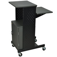 Luxor PS4000C Mobile Presentation Stand with Locking Cabinet