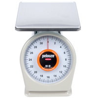 Rubbermaid FG832WQ Pelouze QuickStop 32 oz. Portion Scale - 9 inch x 9 inch Platform
