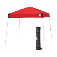 E-Z Up VS3WH10PN Vista Instant Shelter 10' x 10' Punch Canopy with White Frame
