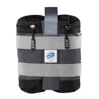 E-Z Up WB3SGBK4 Steel Gray Instant Shelter Weight Bags   - 4/Set