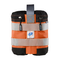 E-Z Up WB3SOBK4 Steel Orange Instant Shelter Weight Bags   - 4/Set
