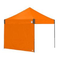 E-Z Up SW3SO10SLGY Recreational 10' Steel Orange Straight Sidewall