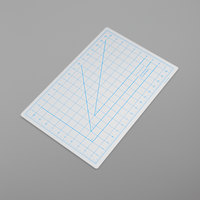X-Acto X7761 12 inch x 18 inch White Translucent Self-Healing Cutting Mat