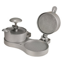 Weston 07-0701 4 1/2 inch Double Adjustable Aluminum Burger Press with Patty Ejector