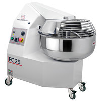 Mecnosud 55 lb. Single Speed Fork Dough Mixer - 200-240V, 1 Phase, 2HP