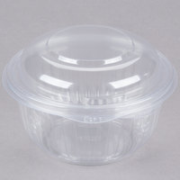Dart C16HBD PresentaBowls 16 oz. Hinged Bowl with Dome Lid - 300/Case
