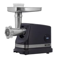 Weston 33-1201-W Pro Series #8 Electric Meat Grinder and Sausage Stuffer - 120V, 575W