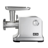 Weston 33-1301-W Pro Series #12 Electric Meat Grinder and Sausage Stuffer - 120V, 750W
