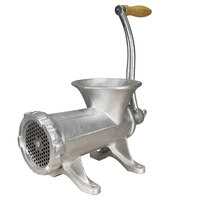 Weston 36-2201-W #22 Tin-Coated Manual Meat Grinder