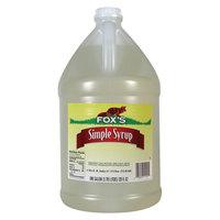 Fox's 1 Gallon Simple (Sugar) Syrup