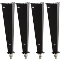 Bakers Pride 21818752 25 inch Legs for BCO and GDCO - 4/Set