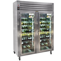 Traulsen R Series RH126W-WR01 2 Section Full Length Glass Door Wine Refrigerator