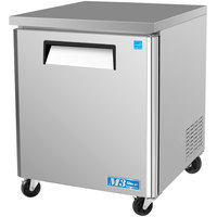 Turbo Air MUF-28 M3 Series 28 inch Undercounter Freezer - 7 Cu. Ft.