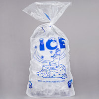 8 lb. Wicketed Ice Bag with Handle   - 1000/Case